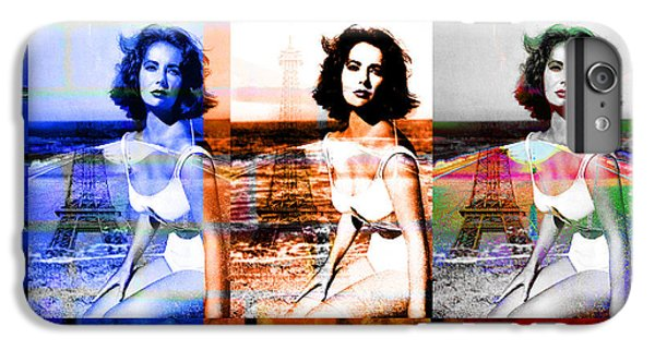 Liz Taylor iPhone 6s Plus Case - Elizabeth Taylor Goes To Paris To See The Eiffel Tower by Ben Stein