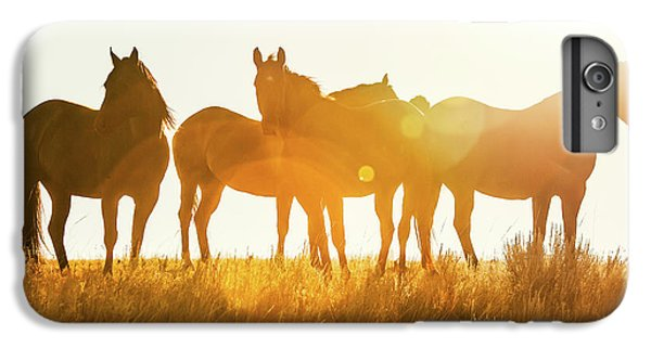 Horse iPhone 6s Plus Case - Equine Glow by Todd Klassy
