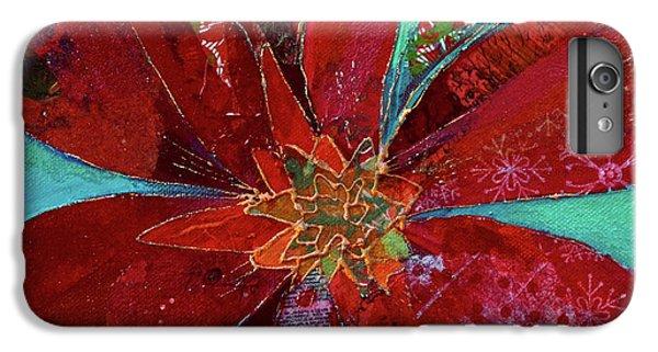 Scarlet iPhone 6s Plus Case - Fiery Bromeliad I by Shadia Derbyshire