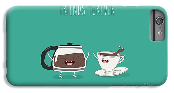 Hot iPhone 6s Plus Case - Funny Cup Of Coffee And Funny Coffee by Serbinka