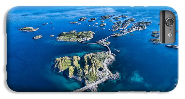 Town iPhone 6s Plus Case - Henningsvaer, Fishing Port On Lofoten by Harvepino