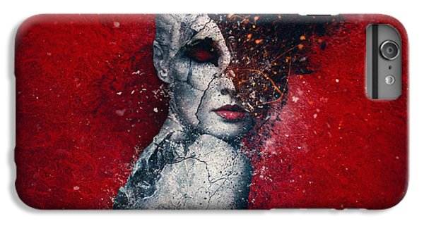 Explosion iPhone 6s Plus Case - Indifference by Mario Sanchez Nevado