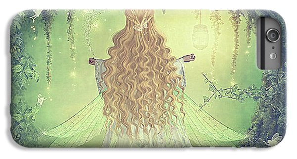 Fairy Dust iPhone 6s Plus Case - Little Girl Dreams  by G Berry