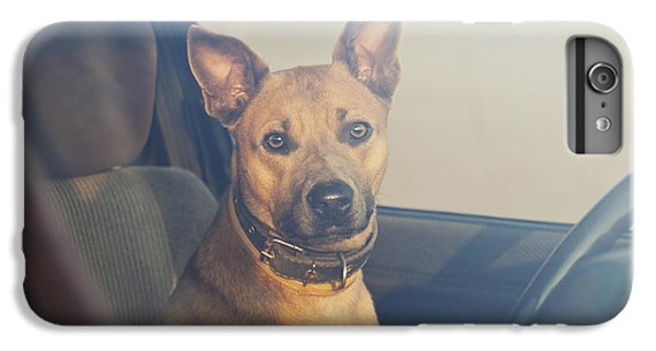 Hot iPhone 6s Plus Case - Lonely Dog Waiting In The Car by Maria Komar