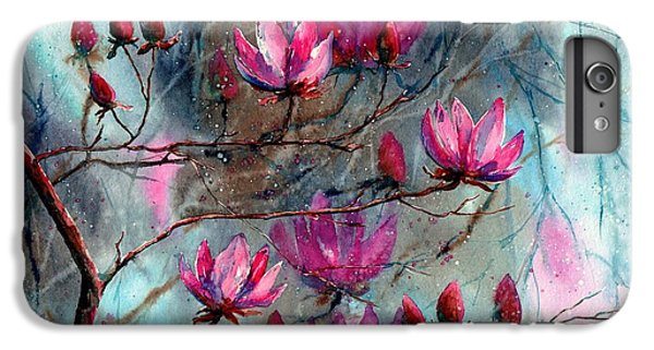 Flower Fairy iPhone 6s Plus Case - Magnolia At Midnight by Suzann Sines