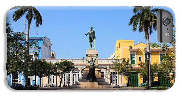 Town iPhone 6s Plus Case - Matanzas, Cuba - Main Square. Palm by Tupungato