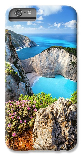 Greece iPhone 6s Plus Case - Navagio Bay by Evgeni Dinev