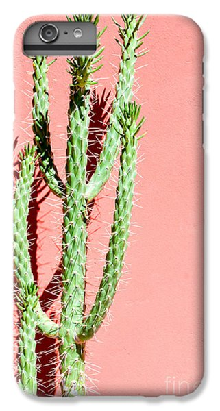 Spines iPhone 6s Plus Case - Photo Picture Of A Tropical Cactus by Underworld