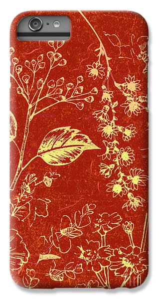 Orchid iPhone 6s Plus Case - Red Blossoms by Jorgo Photography - Wall Art Gallery