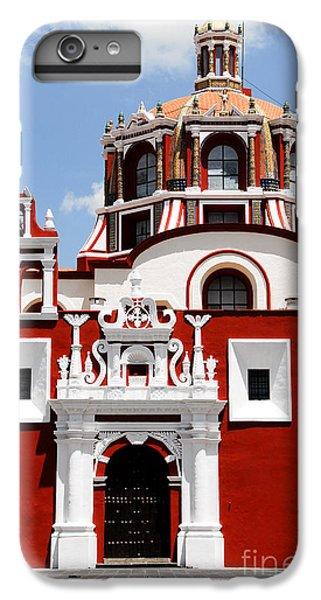 Town iPhone 6s Plus Case - Santo Domingo Church, Puebla Mexico by Alberto Loyo