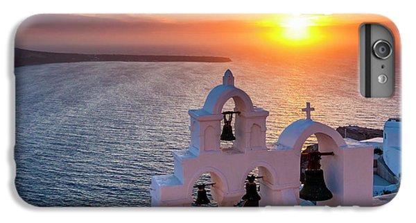 Greece iPhone 6s Plus Case - Santorini Sunset by Evgeni Dinev