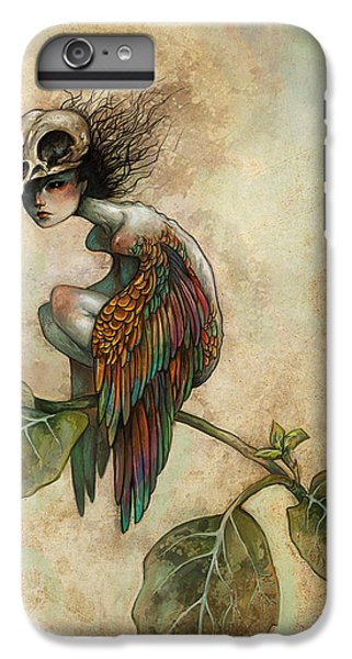 Fairy iPhone 6s Plus Case - Soul Of A Bird by Caroline Jamhour