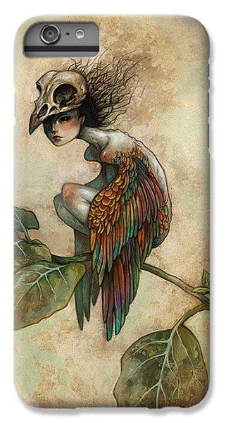 iPhone 6s Plus Case - Soul Of A Bird by Caroline Jamhour