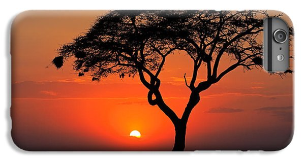 Hot iPhone 6s Plus Case - Sunset With Silhouetted African Acacia by Ecoprint