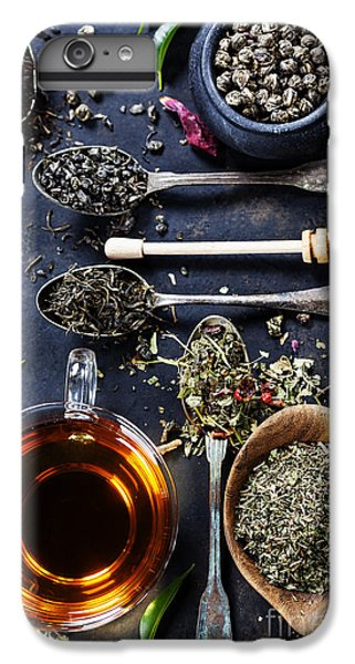 Hot iPhone 6s Plus Case - Tea Composition With Different Kind Of by Natalia Klenova