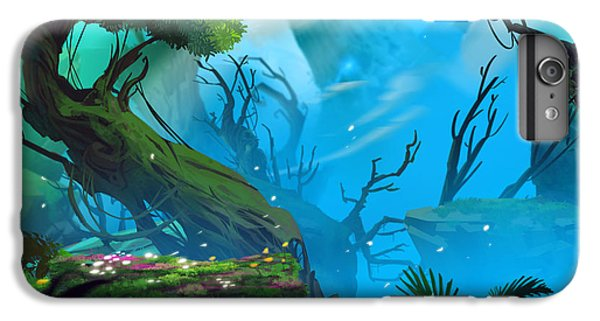 Flower Fairy iPhone 6s Plus Case - The Entrance Of Mystery Valley In A by Nextmarsmedia