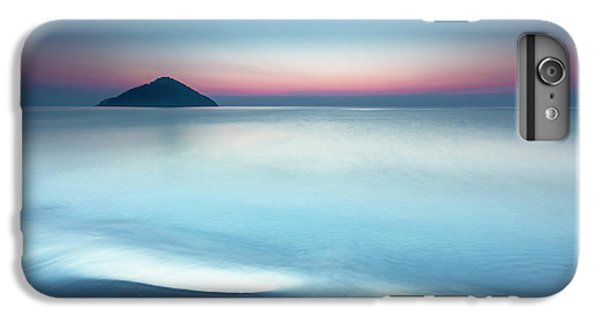 Greece iPhone 6s Plus Case - Triangle Island by Evgeni Dinev