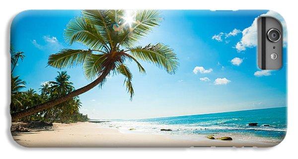 Hot iPhone 6s Plus Case - Untouched Tropical Beach In Sri Lanka by Anton Gvozdikov