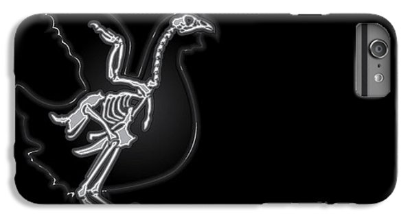 Spines iPhone 6s Plus Case - X-ray Vector Chicken by Anton novik