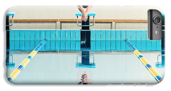 Fitness iPhone 6s Plus Case - Young Muscular Swimmer Jumping From by Nejron Photo