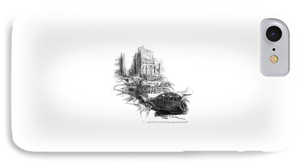 . . . And We've Got Wind Resistance IPhone Case by Perry Barlow