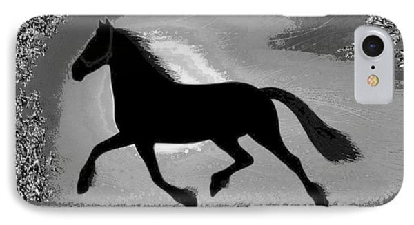 If Mind Is A Horse You Need Your Heart And Soul To Control It For The Right Pace And Direction  S IPhone Case by Navin Joshi