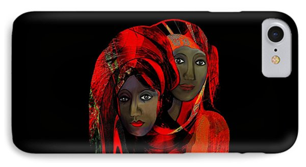 000 - Colour Of Passion IPhone Case by Irmgard Schoendorf Welch