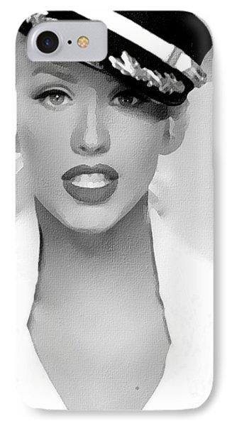 # 1 Christina Aguilera Portrait. IPhone Case