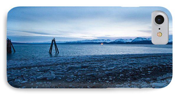 A Cold  Blue Day IPhone Case