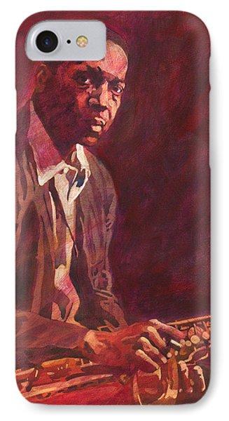 A Love Supreme - Coltrane IPhone Case by David Lloyd Glover