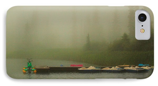 A Misty Day IPhone Case by Steven Reed