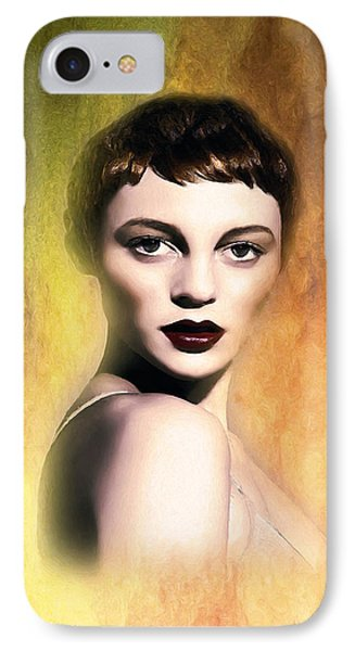 A Portrait Of Isabella IPhone Case by Tyler Robbins