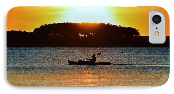 A Reason To Kayak - Summer Sunset IPhone Case