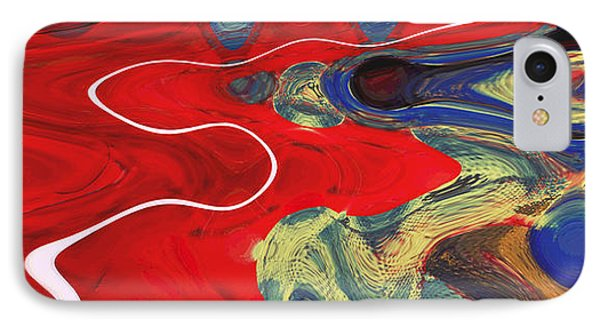 A Single Soul Inhabiting Two Bodies IPhone Case by Sir Josef - Social Critic - ART