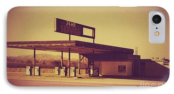 Abandoned Gas Station IPhone Case