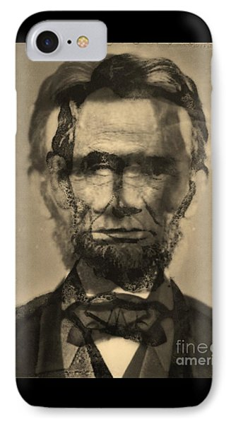 Abraham Lincoln Phone Case by Michael Kulick