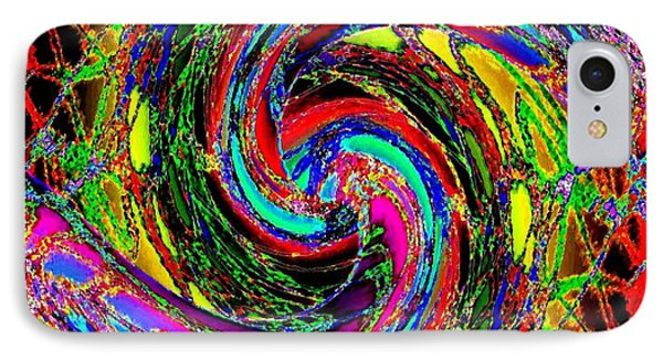Abstract Fusion 215 IPhone Case by Will Borden