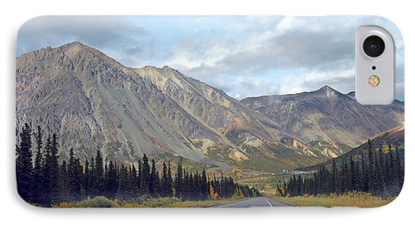 IPhone Case featuring the photograph  Along The Parks Highway  by Dyle   Warren