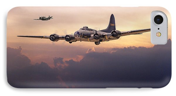 B17- Last Home Phone Case by Pat Speirs
