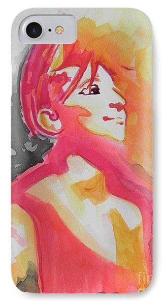 Barbra Streisand IPhone Case by Chrisann Ellis