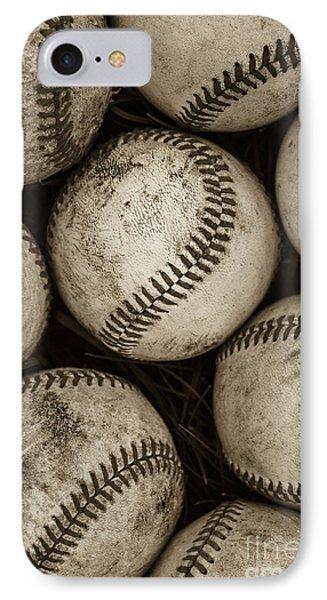 Baseballs IPhone 7 Case by Diane Diederich