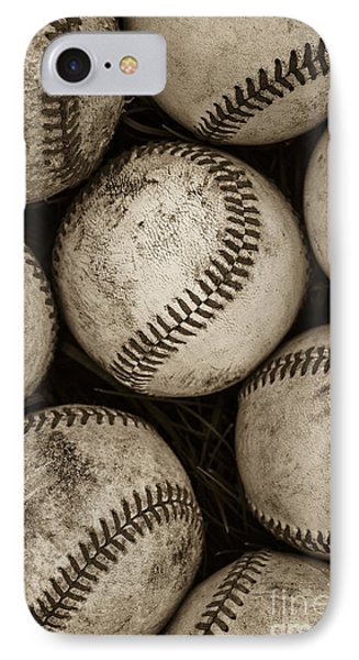 Baseballs IPhone Case by Diane Diederich