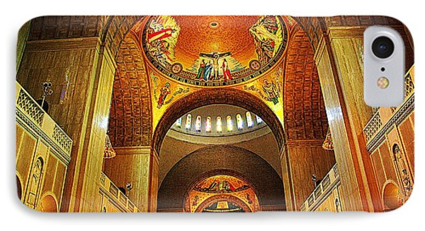 IPhone Case featuring the photograph  Basilica Of The National Shrine Of The Immaculate Conception by John S