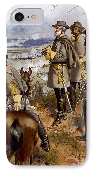 Battle Of Fredericksburg Phone Case by American School