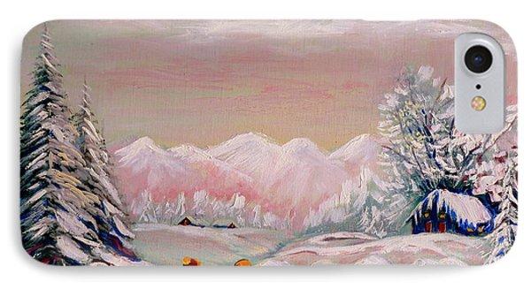 Beautiful Winter Fairytale Phone Case by Carole Spandau