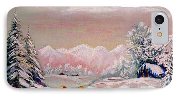 Beautiful Winter Fairytale IPhone Case by Carole Spandau