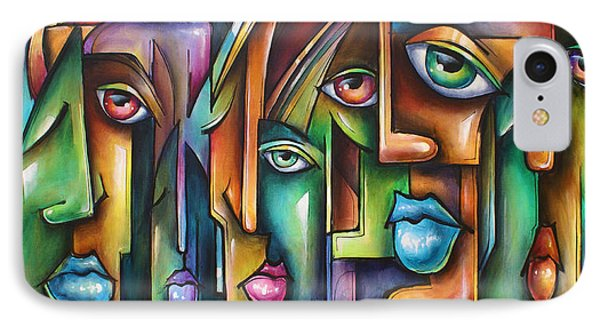 ' Believers ' Phone Case by Michael Lang