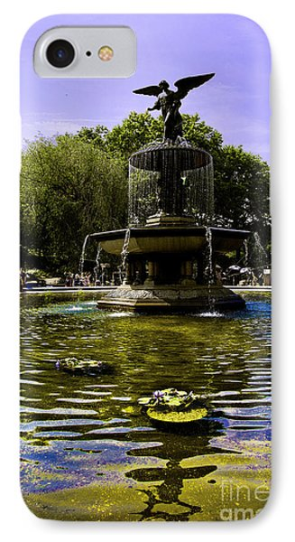 Bethesda Fountain - Central Park  Phone Case by Madeline Ellis