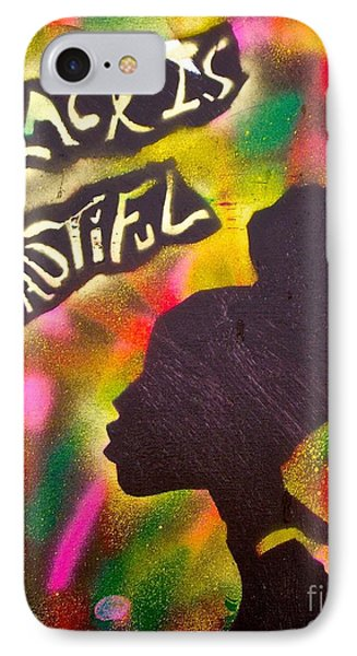 Black Is Beautiful Girl IPhone Case by Tony B Conscious