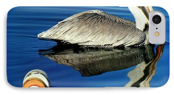 Blues Pelican Phone Case by Karen Wiles